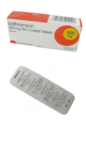 Antibiotika azithromycin 500mg